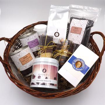 Luxury coffee & tea hamper